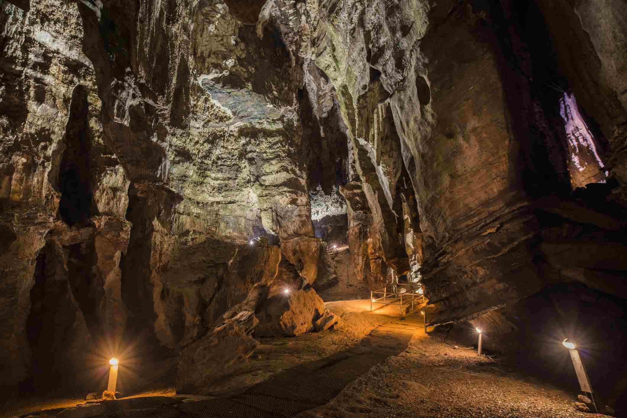 Cuevas Sterkfontein en la Cuna de la Humanidad