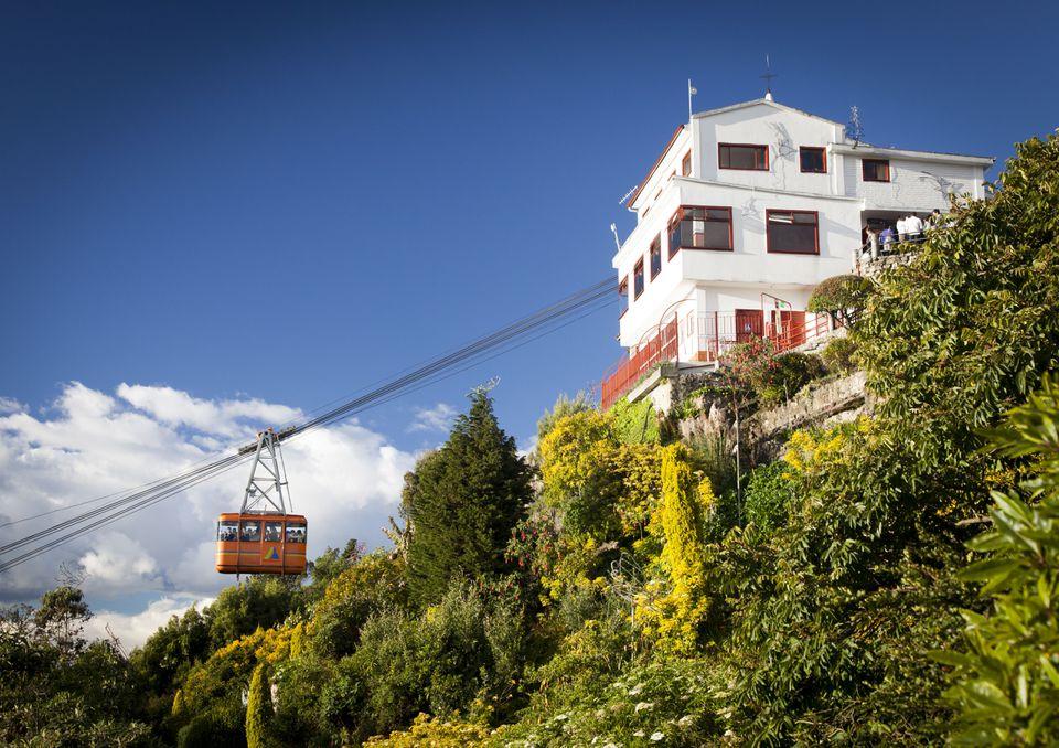 Monserrate Funicular, Bogota Colombia