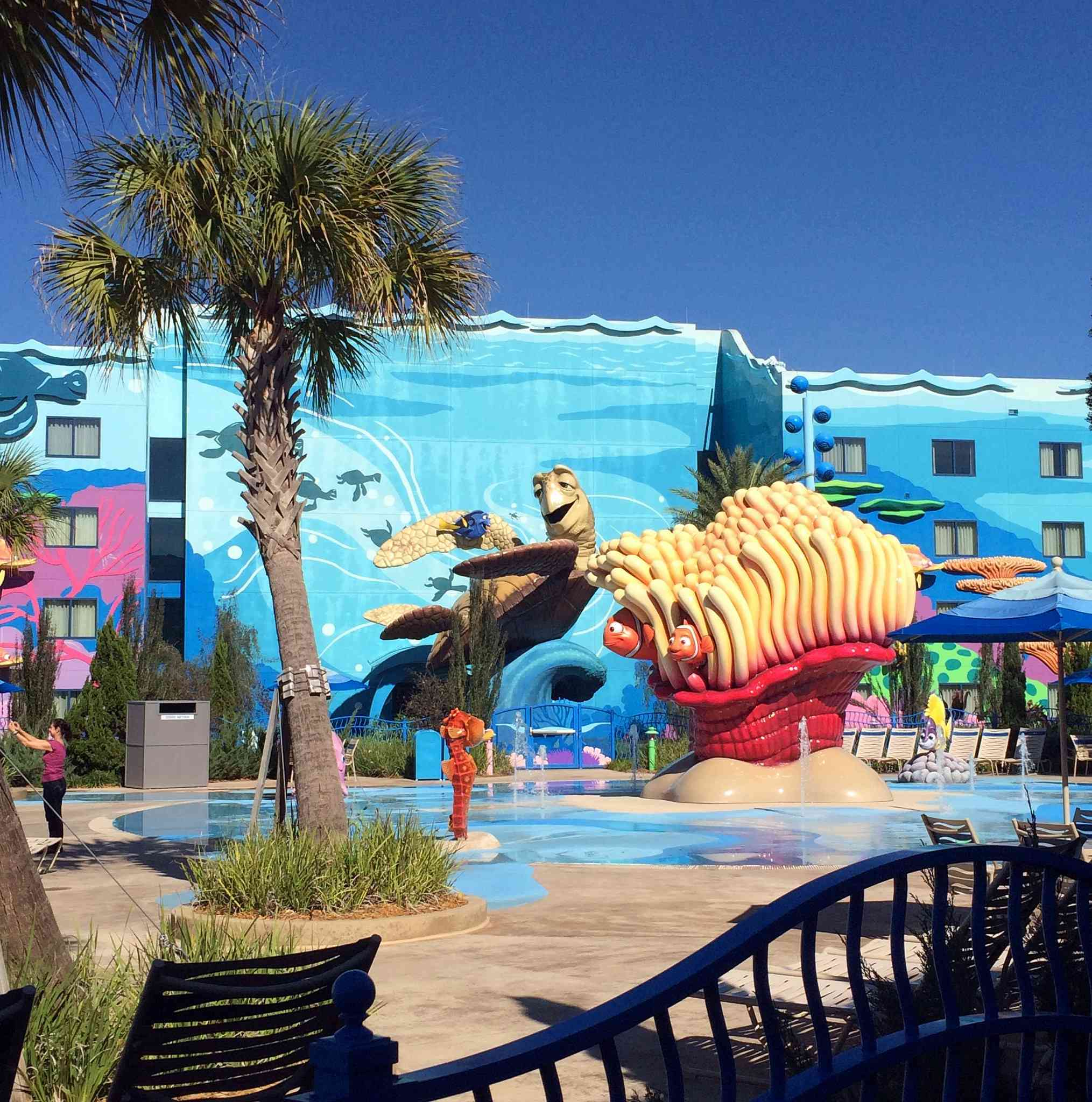 Disney's Art of Animation Resort - Finding Nemo - The Big Blue Pool