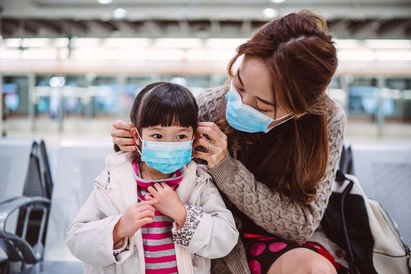 Traveling during a pandemic with kids.