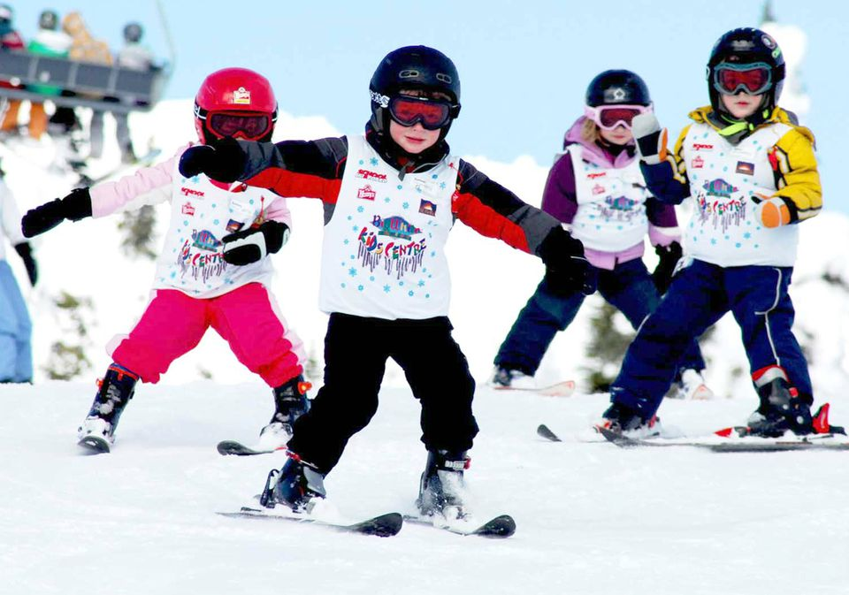 Big White Ski Resort en Columbia Británica con niños