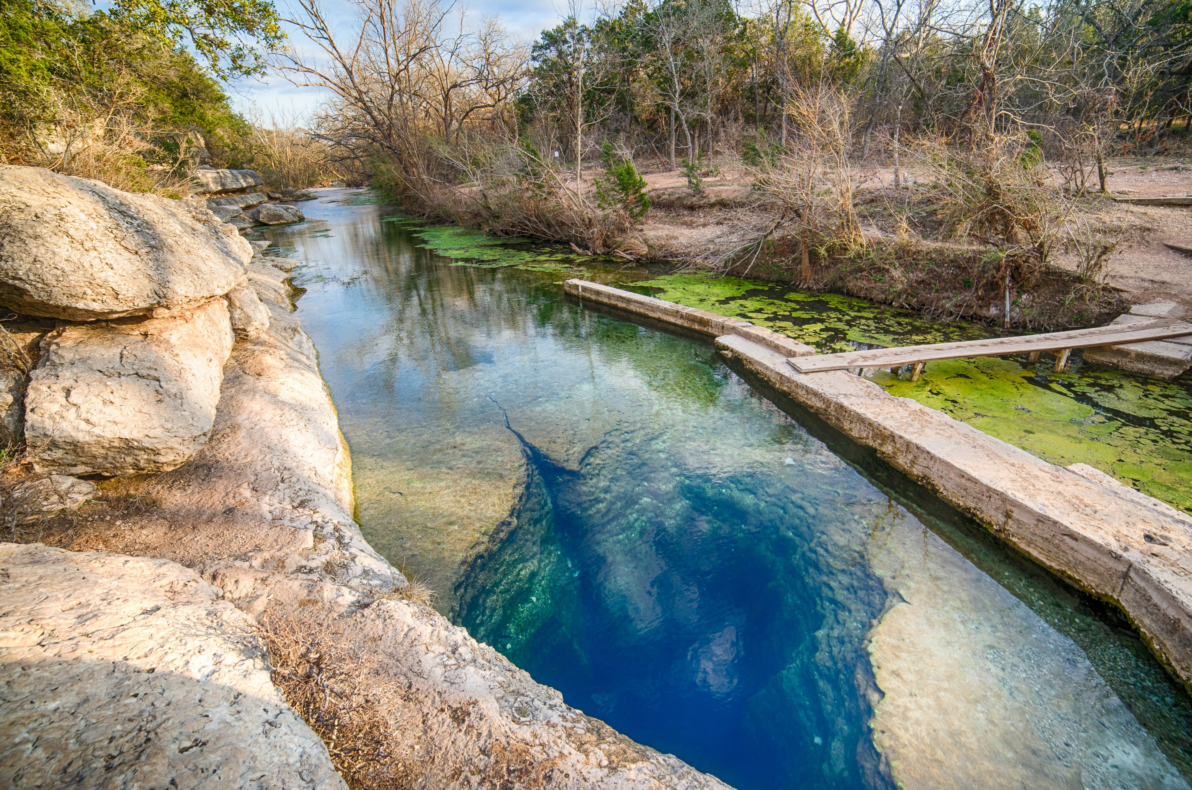 Jacobs Well, Texas Hill Country, Texas, USA