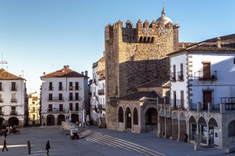 Cáceres plaza mayor