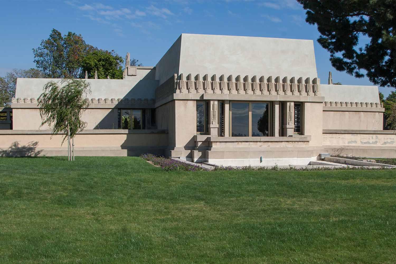 Hollyhock House de Frank Lloyd Wright