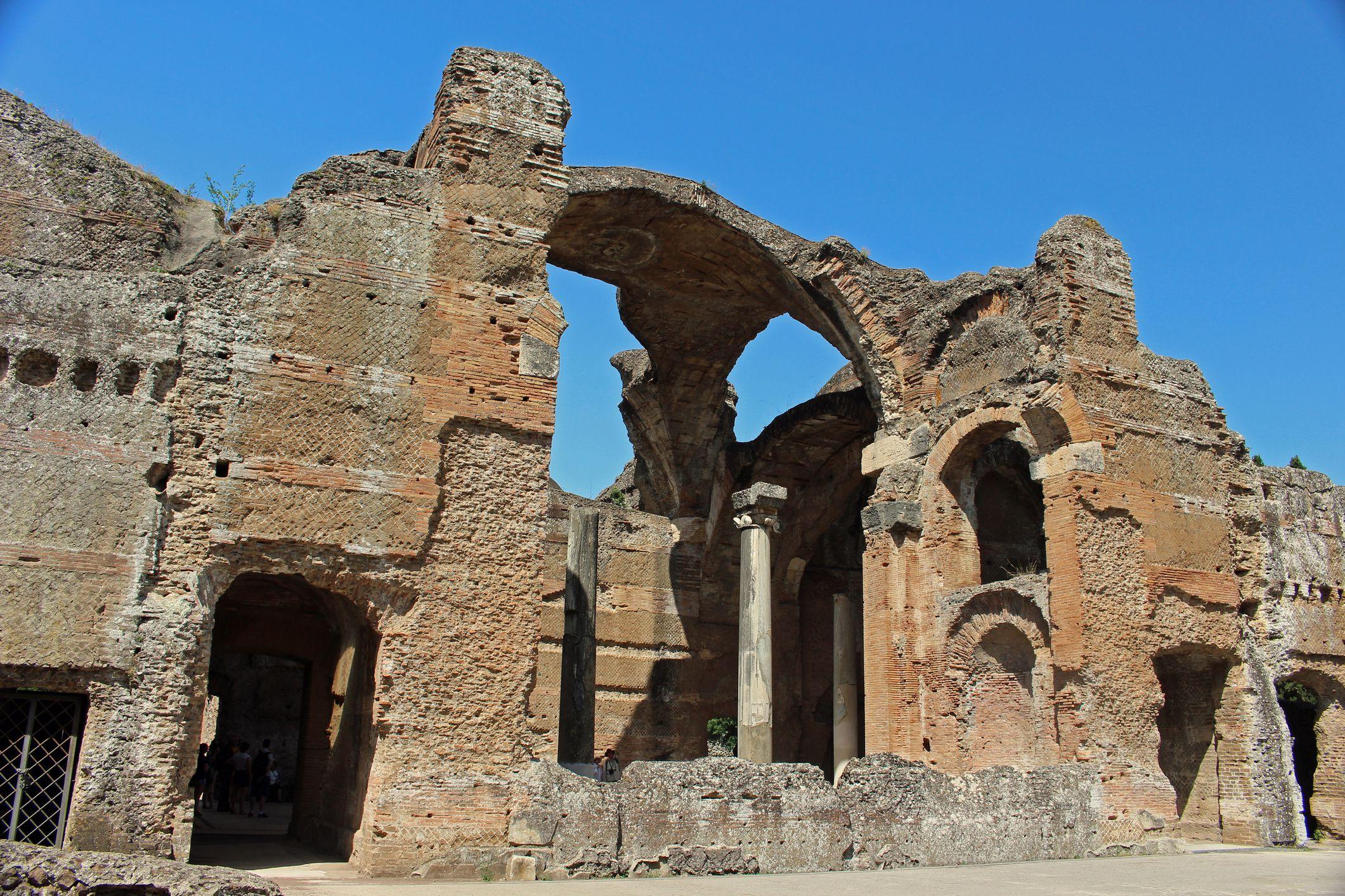 Hadrian's Villa in Italy.