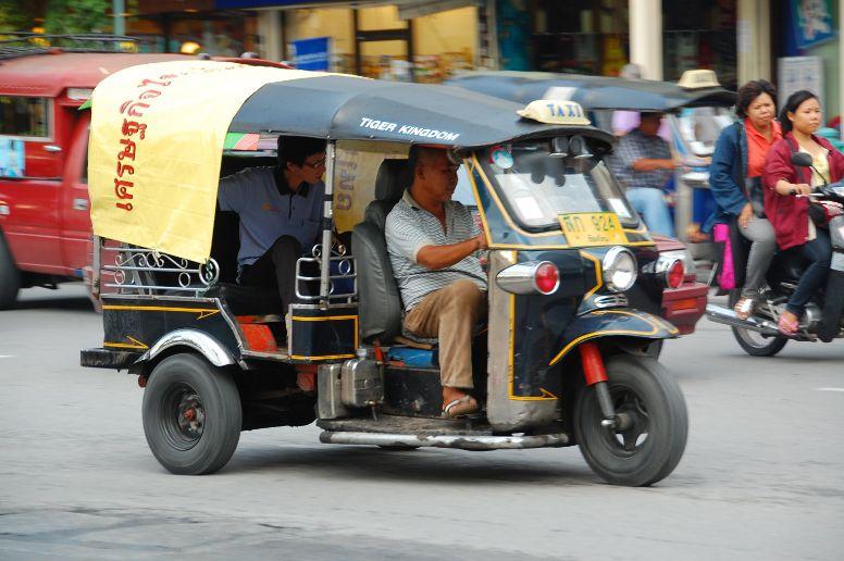 Tuk-Tuk in Thailand