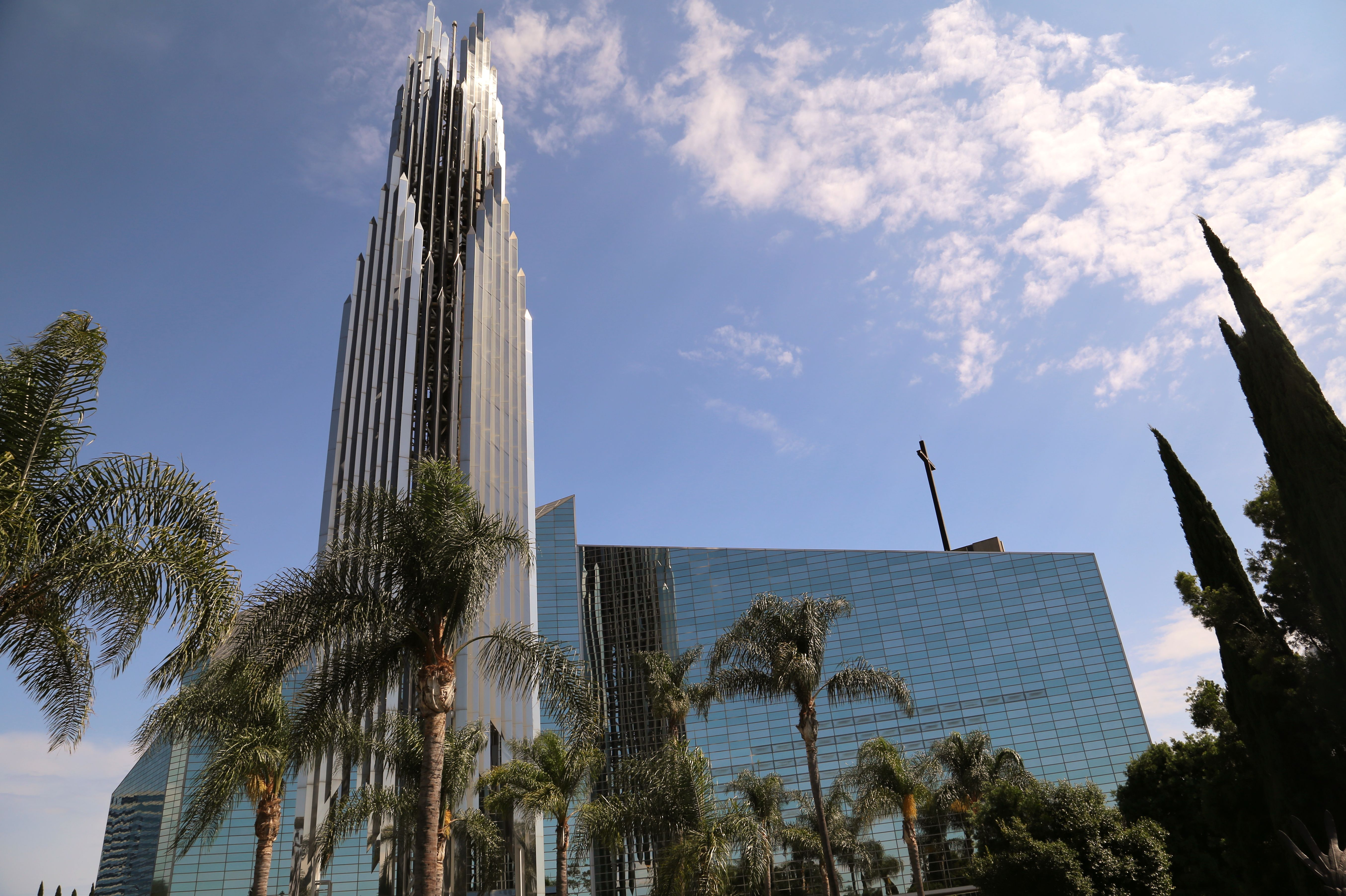 Christ Cathedral, Diocese of Orange county, Garden Grove, California, USA