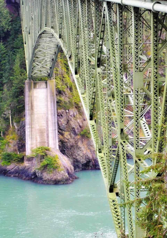 Deception Pass Bridge Kitsap Peninsula