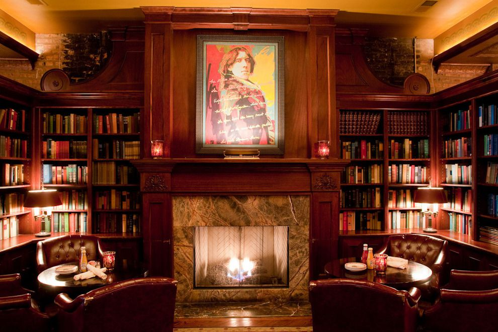 10 Great Chicago Bars With Fireplaces