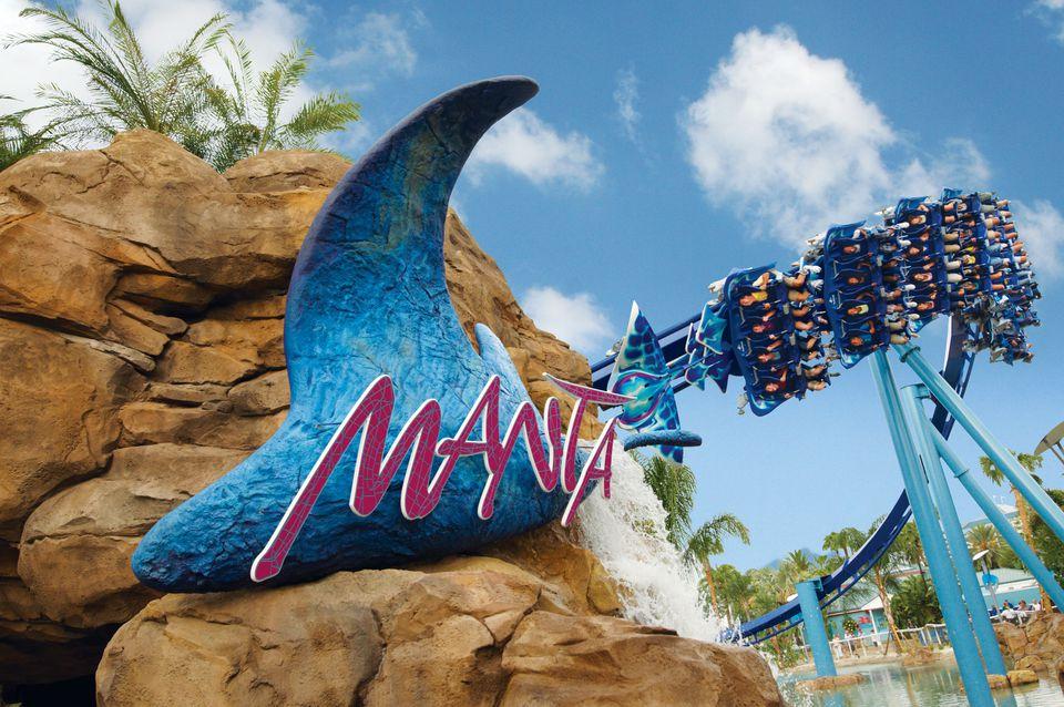 Manta at SeaWorld