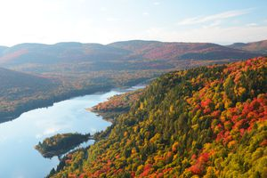 Mont Tremblant National Park in fall