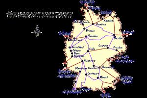 germany rail map