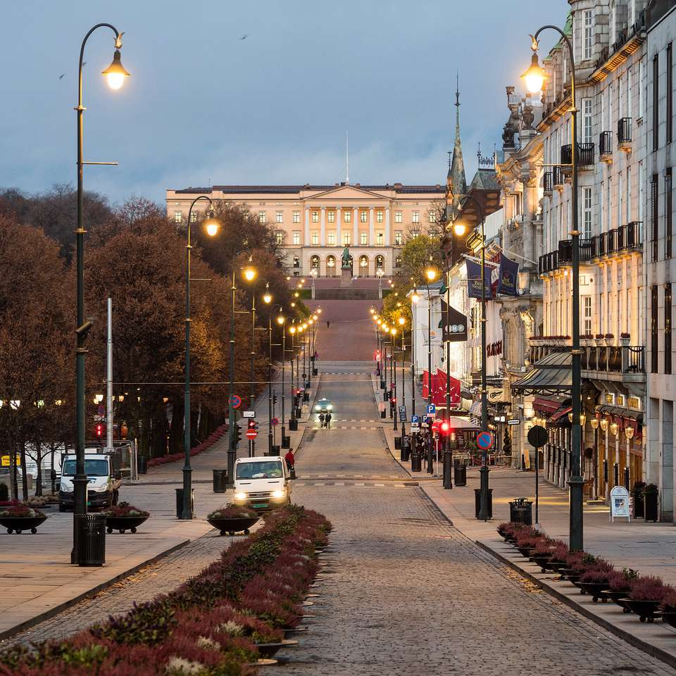 Royal palace in Oslo