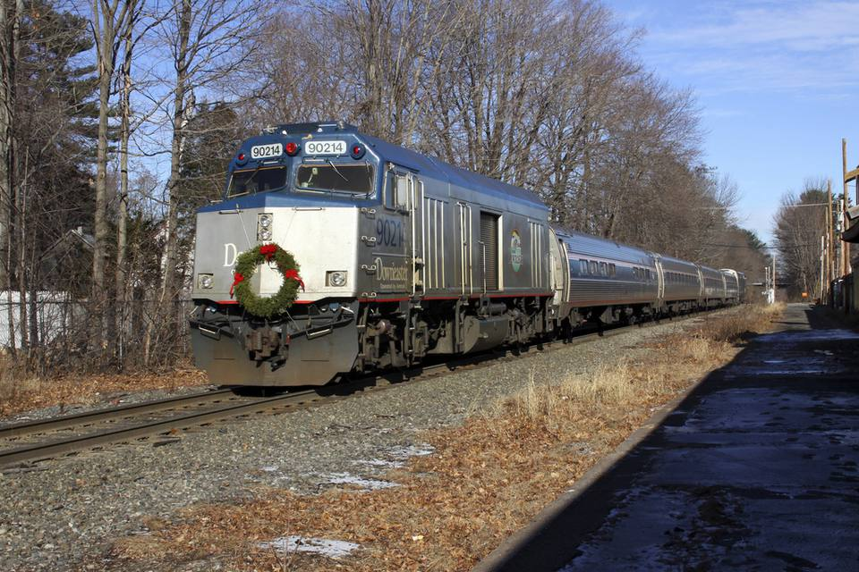 Amtrak Downeaster Train