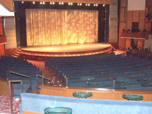 Celebrity Infinity - Celebrity Theater Show Lounge
