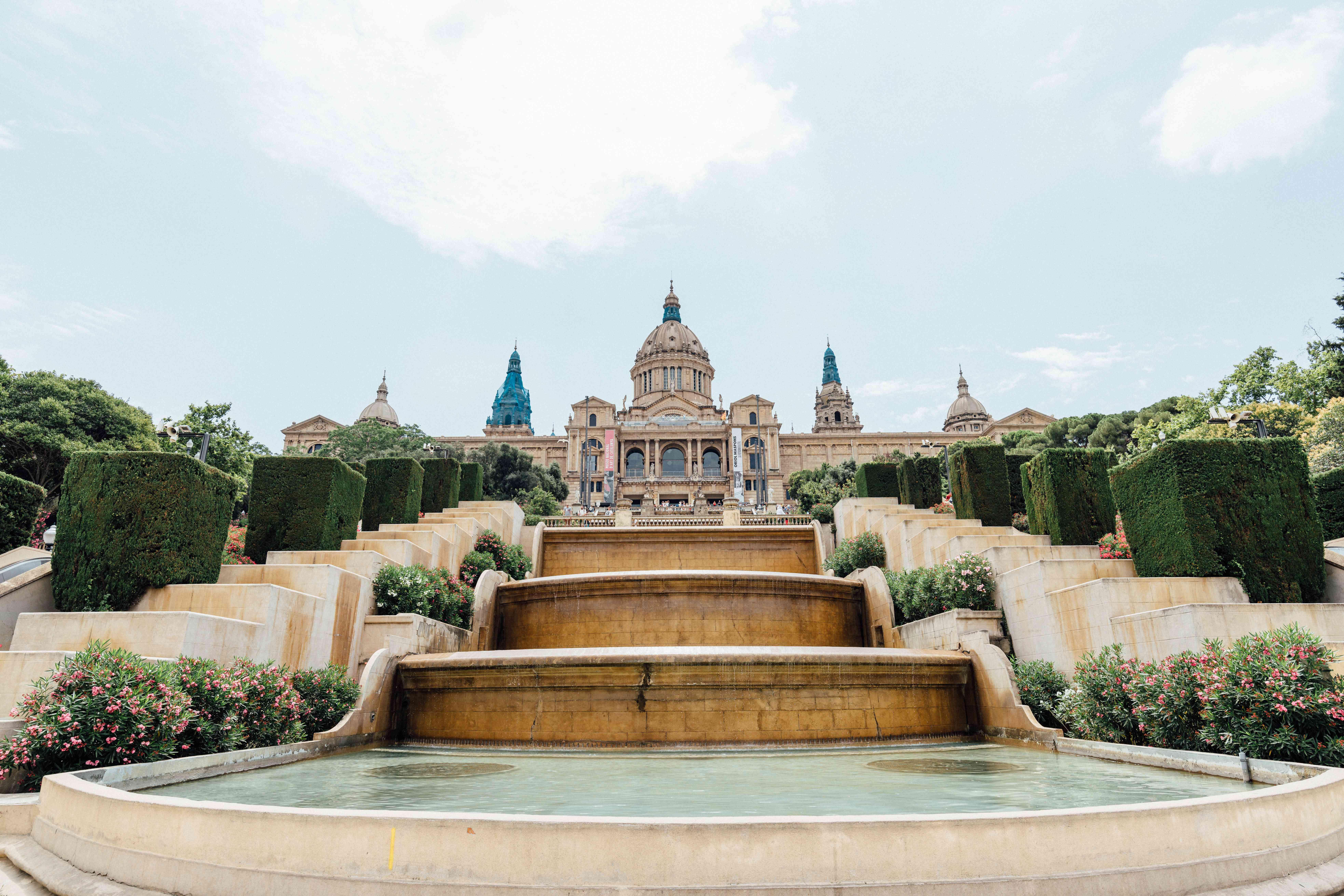 Exterior del Museo de Arte de Cataluña