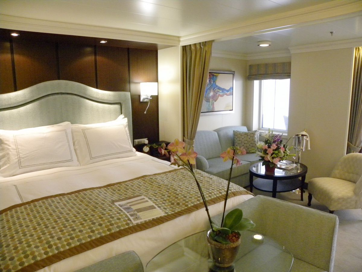 Riviera of Oceania Cruises - Cabins and Suites