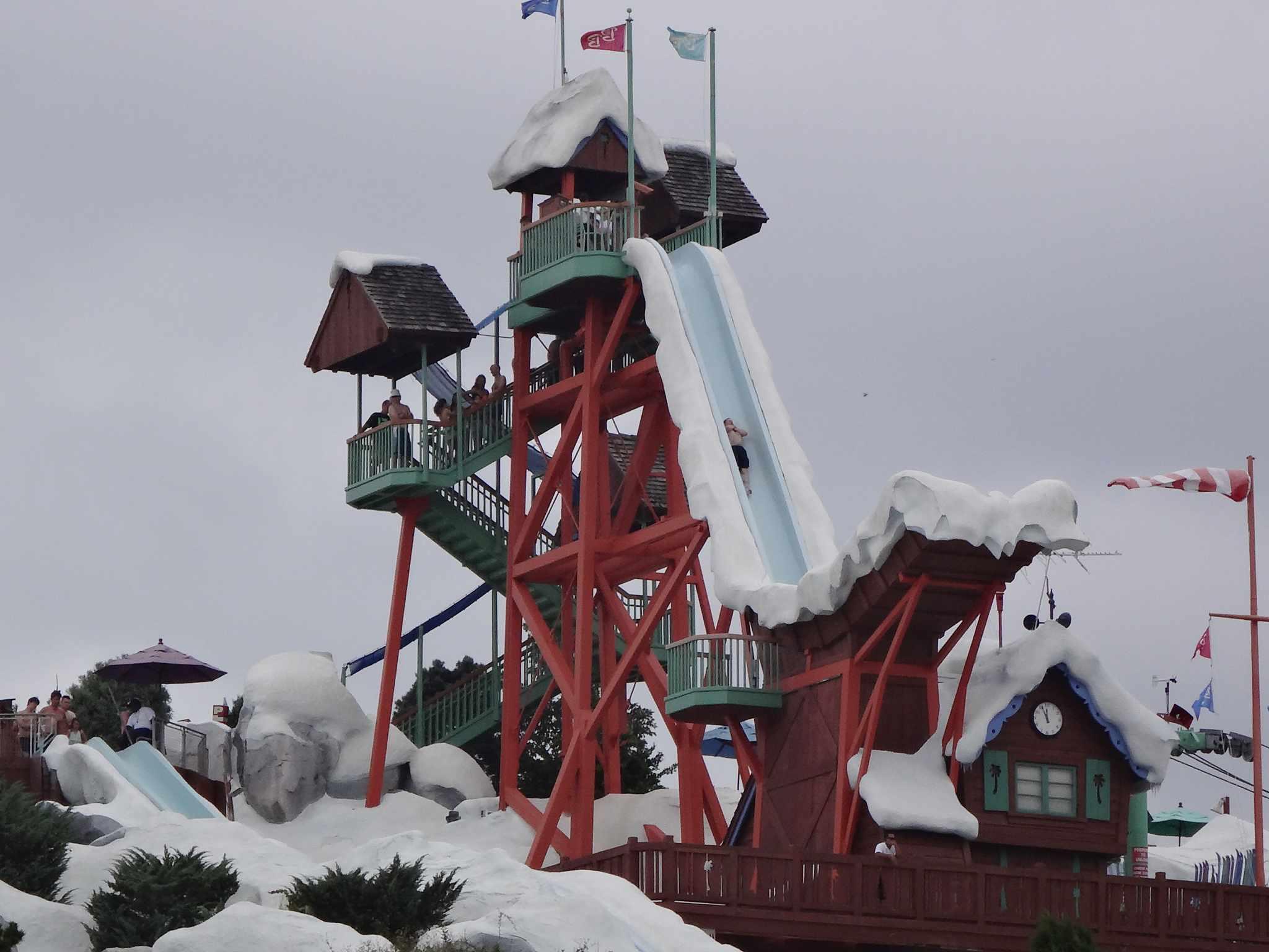 Blizzard Beach: Summit Plummet in Blizzard Beach