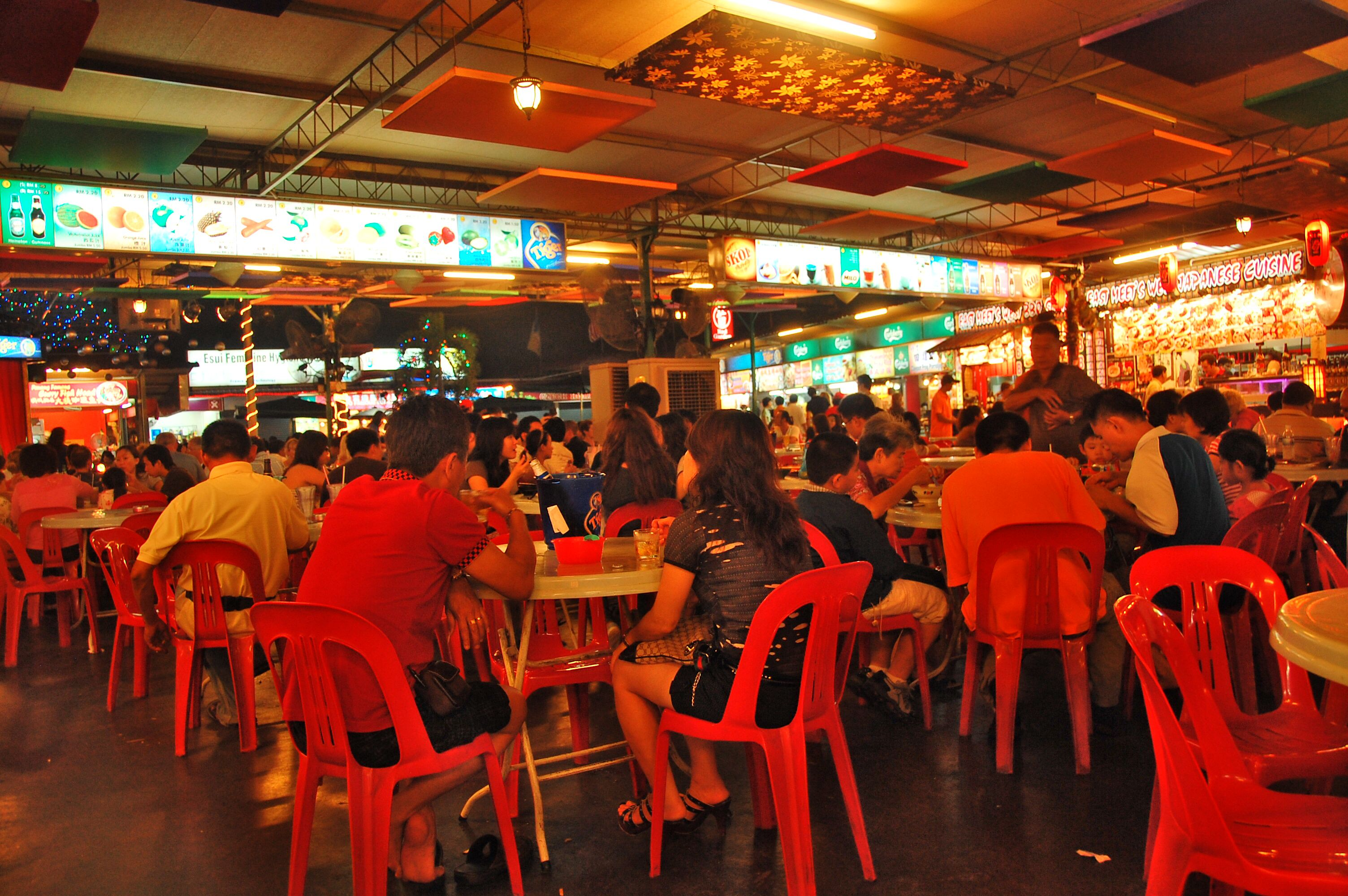 Food Court in Georgetown, Penang