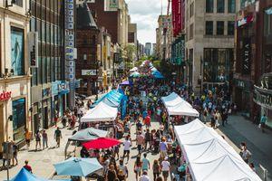 Street Festival in Montreal