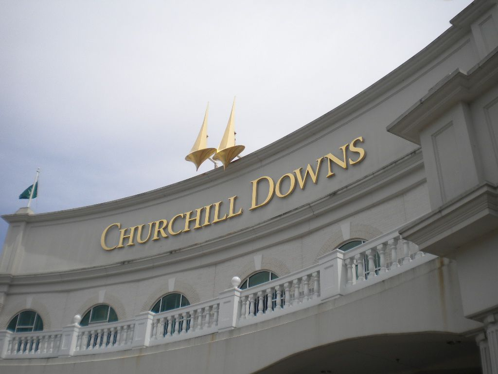 Churchill Downs track in Louisville, KY