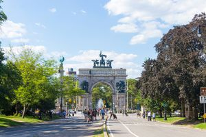 Grand Army Plaza in Prospect Park