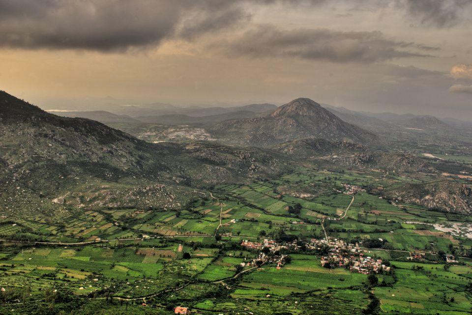 Nandi hills near Bangalore.