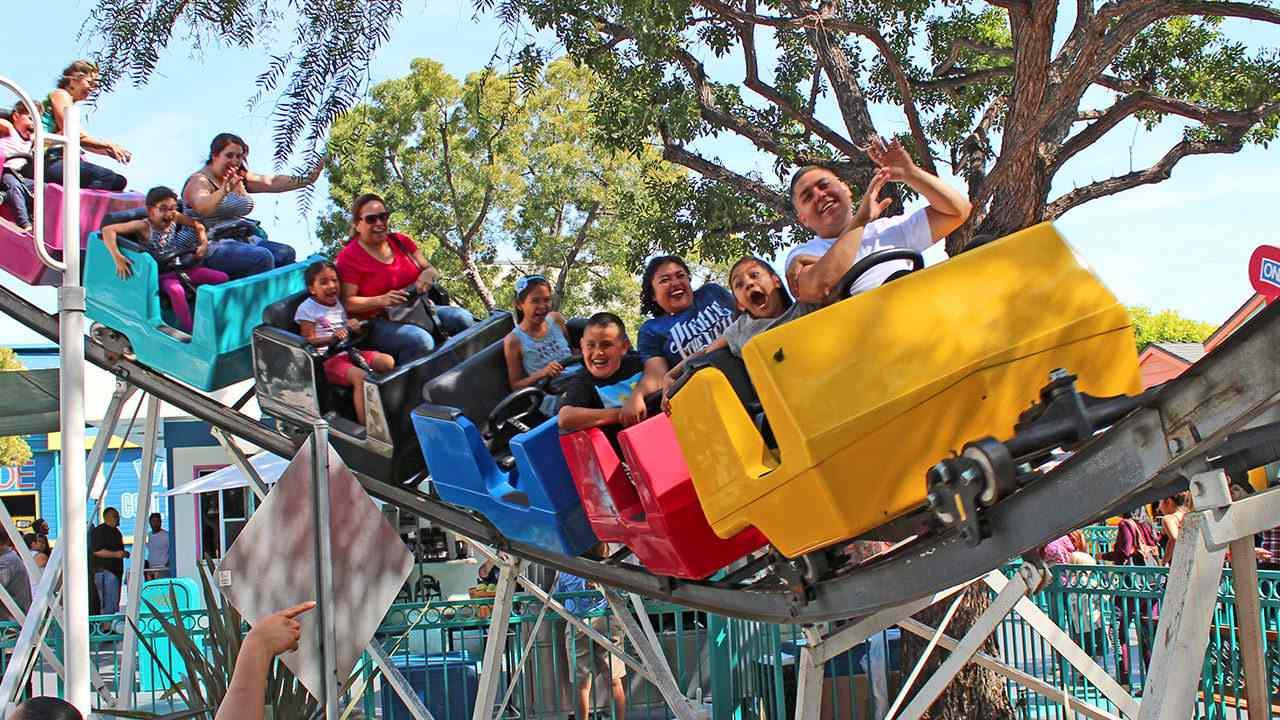 Adventure City California roller coaster