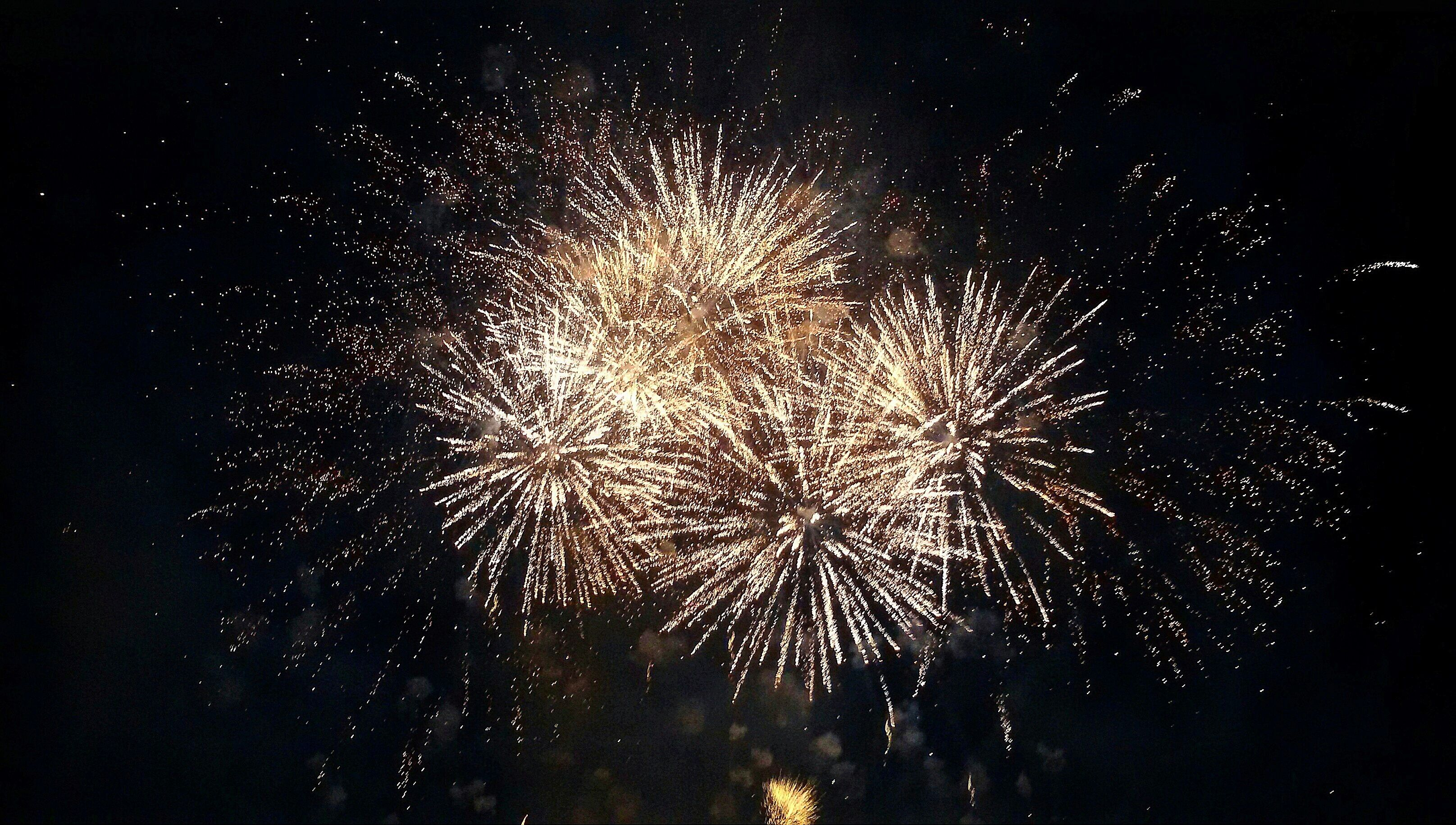 Oklahoma City's Bricktown Fireworks and Fourth Fest
