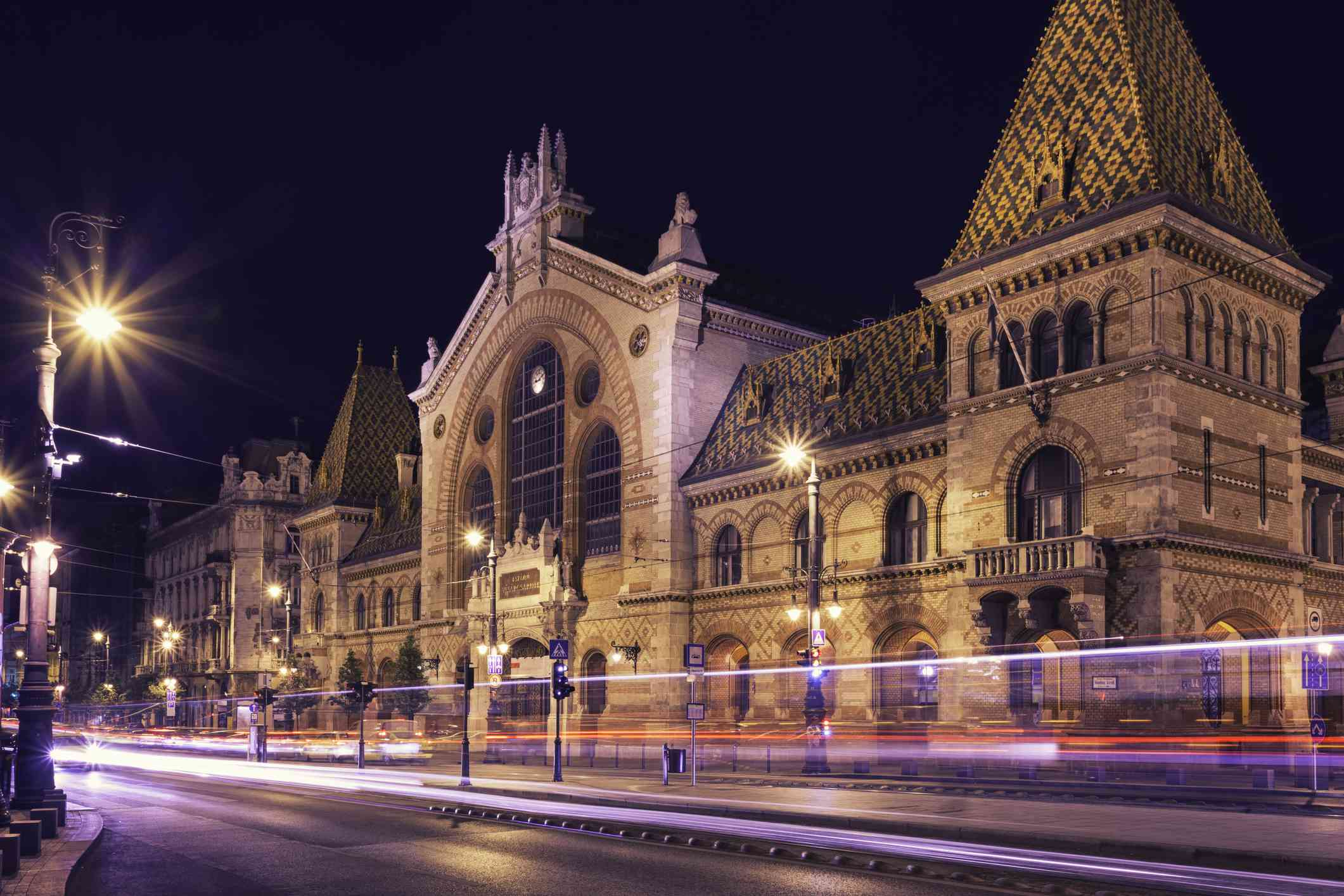 The Great Market Hall of Budapest