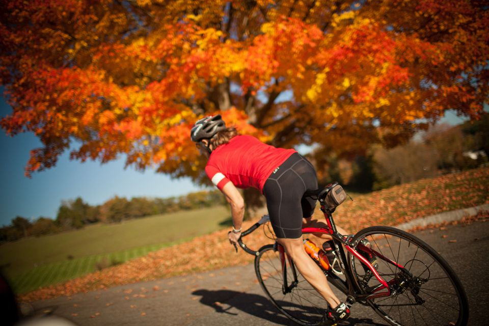 Fall Biking Tours in New England