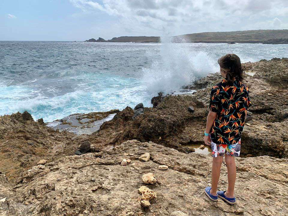 Exploring the island of Aruba