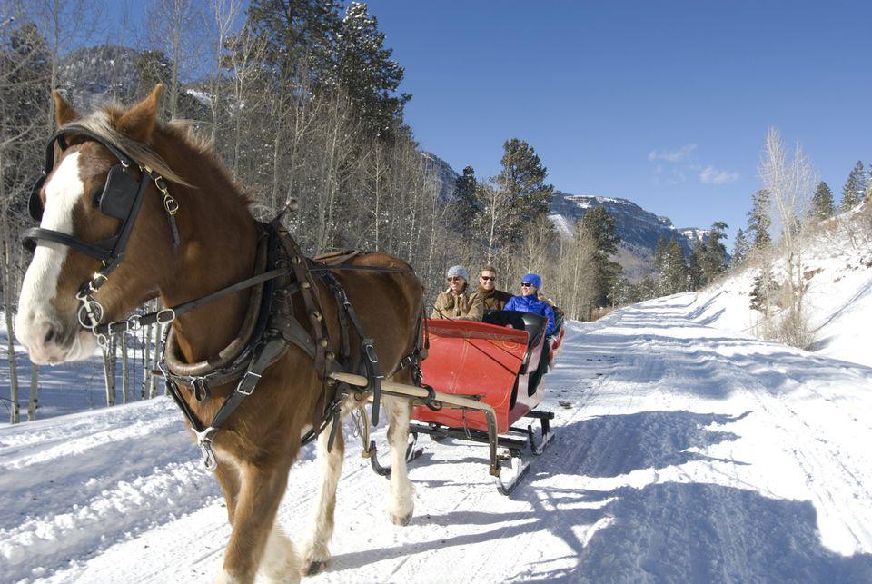 sleigh rides in western pennsylvania