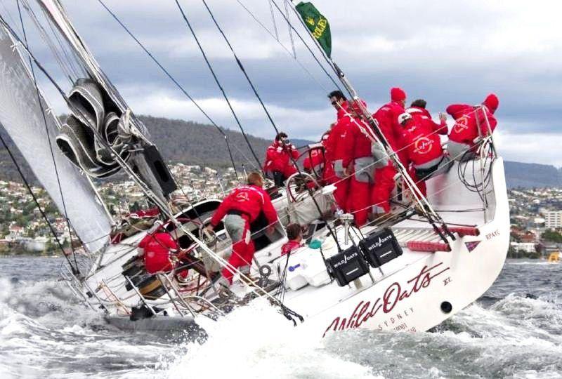 Wild Oats XI in the Sydney Hobart Yacht Race © Rolex / Carlo Borlenghi