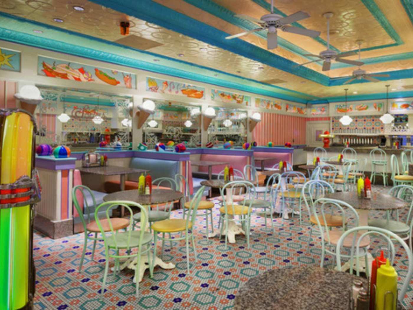 Beaches Cream parlor