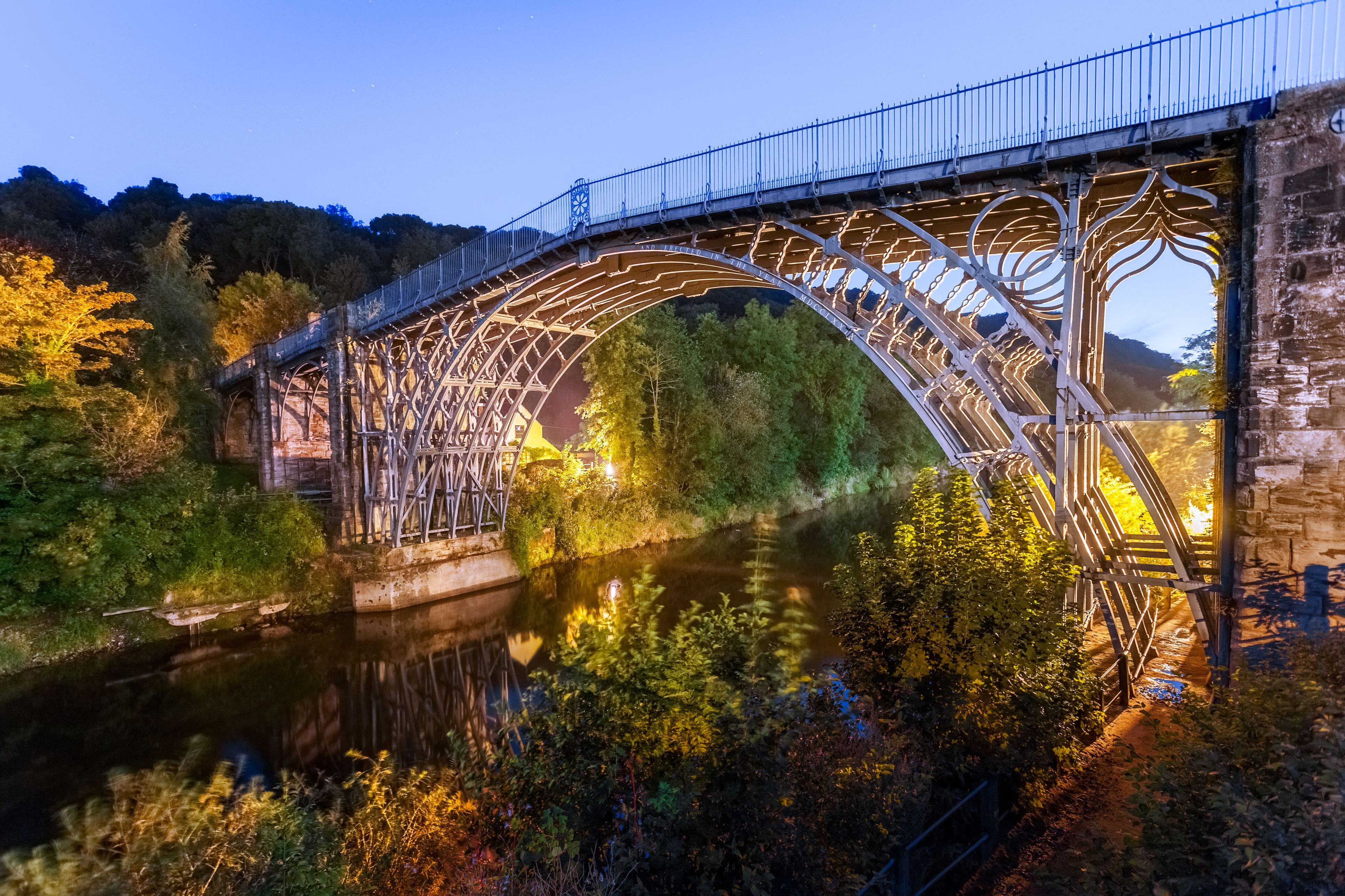 Blue Hour, Ironbridge, Shropshire, England