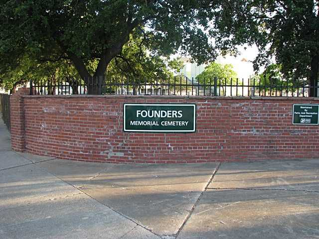 Founders Memorial Cemetery