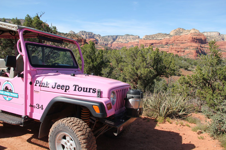 Pink Jeep Tour Information In Sedona Vortex