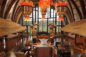 The Animal Kingdom Lodge Lobby at Walt Disney World