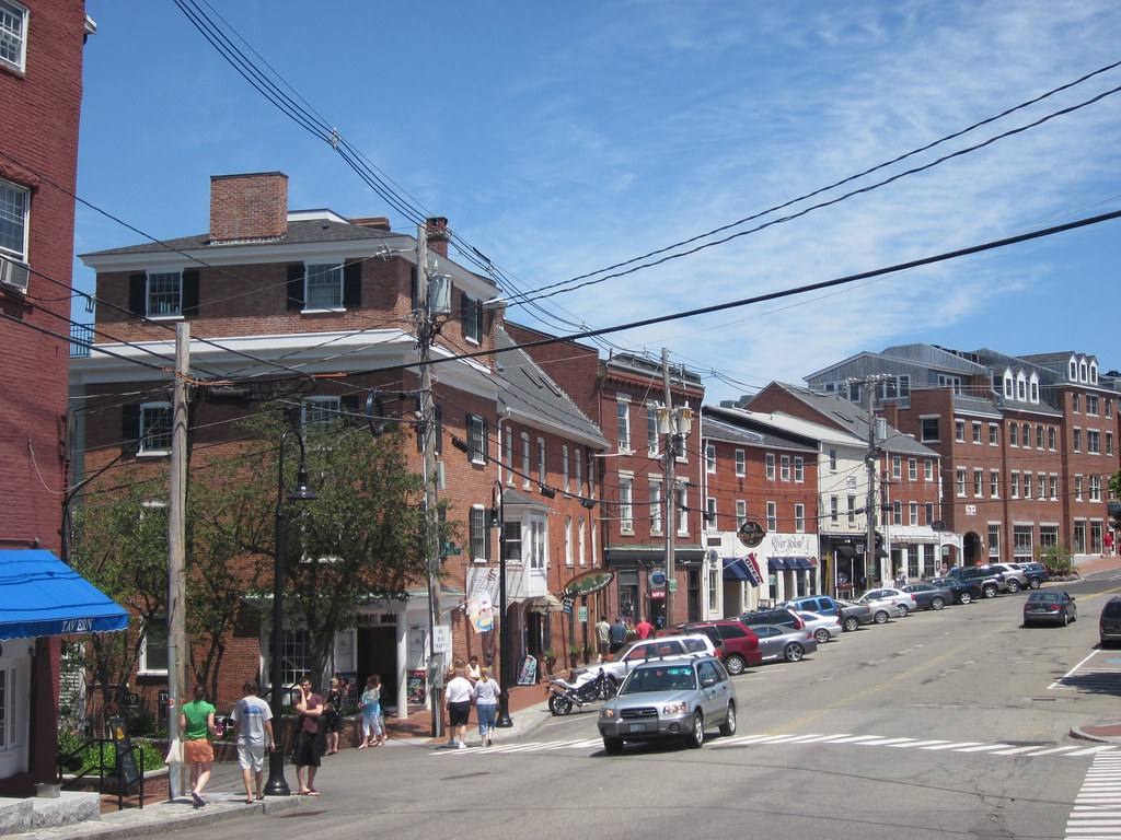 A pretty day in Portsmouth, New Hampshire