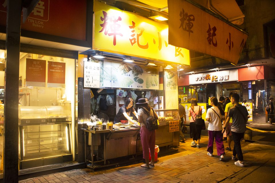 Bowrington Road Cooked Food Centre at Causeway Bay, Hong Kong