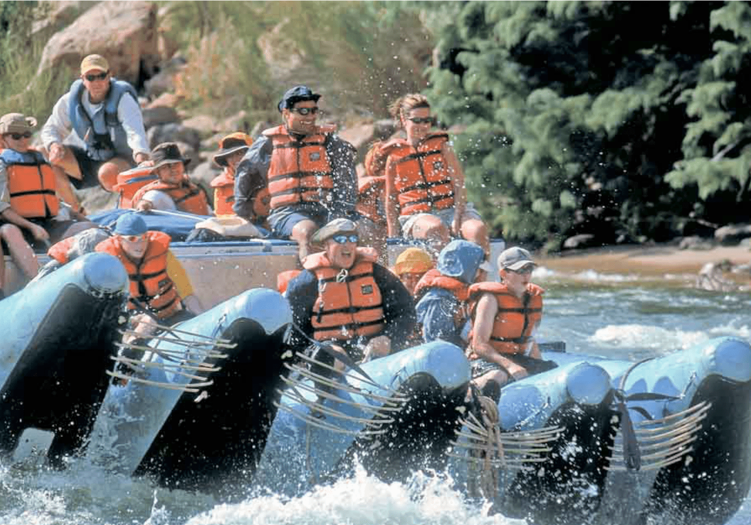 Family Rafting Trip in Grand Canyon