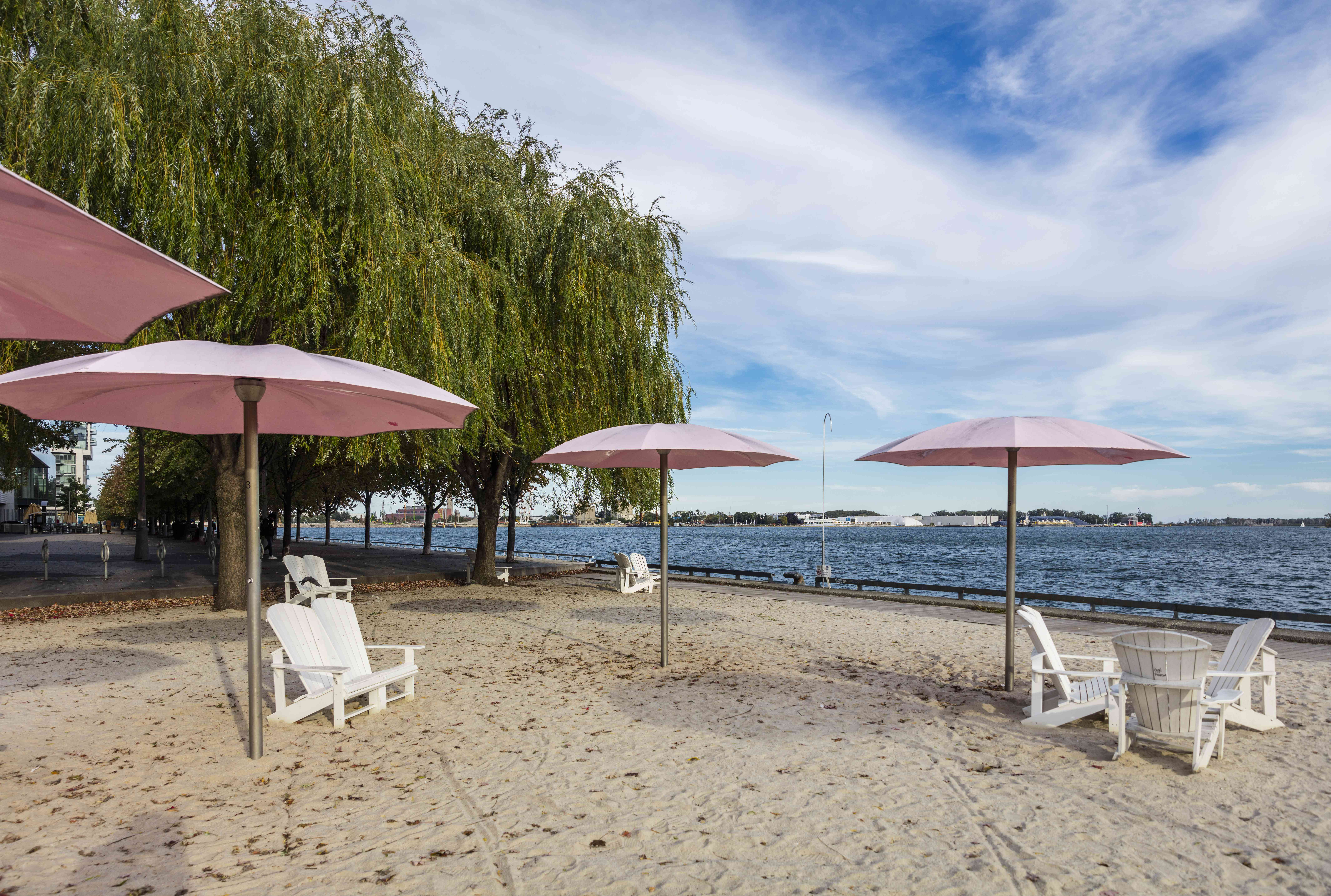Sugar Beach in Toronto