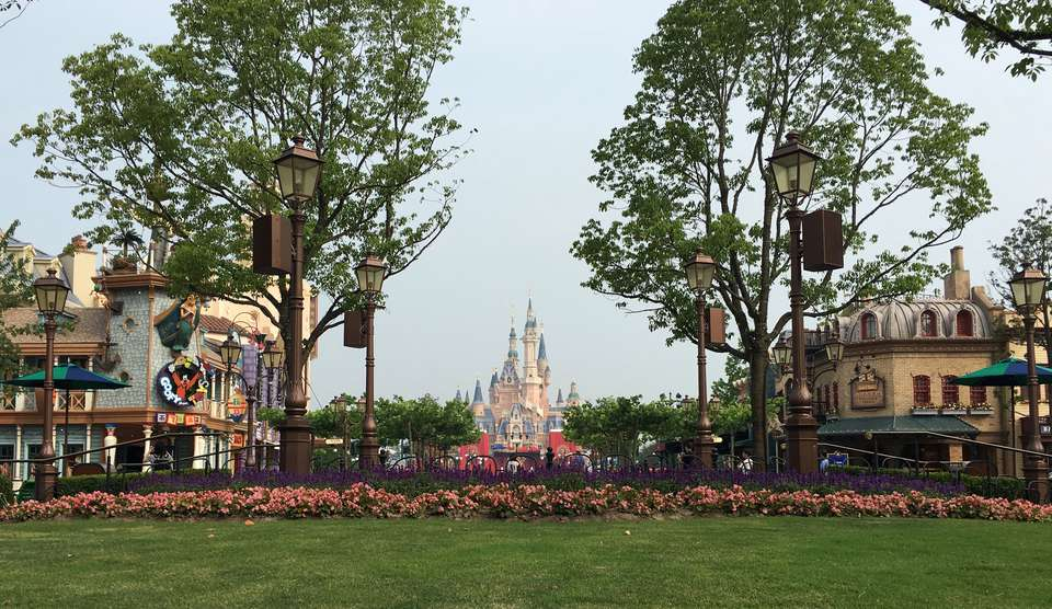 Shanghai Disneyland entrance