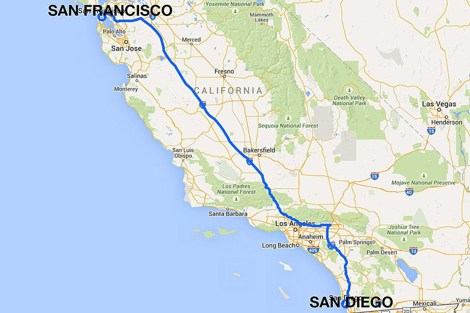 San Diego To San Francisco All The Ways To Travel