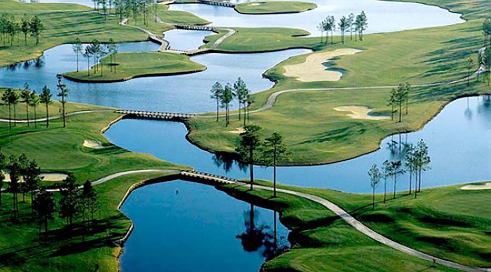 Man O War Golf Course Mystical Myrle Beach South Carolina