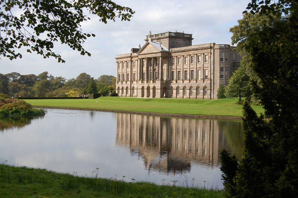 Lyme Park Hall, Cheshire, UK.