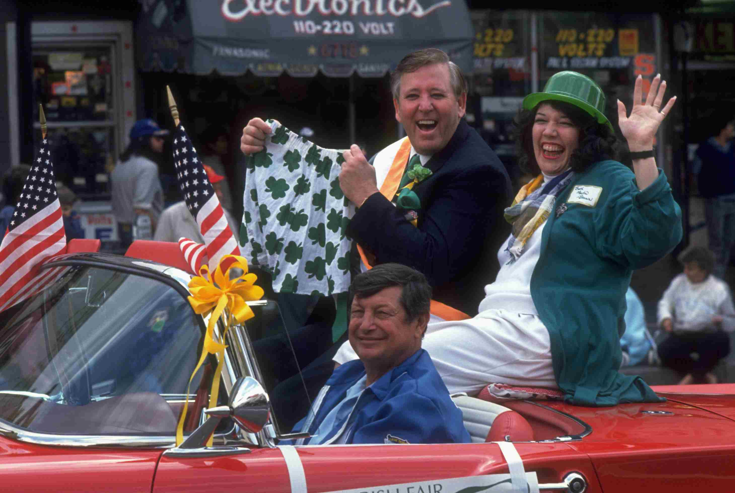 St. Patrick's Day Parade in Los Angeles