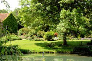 Le Moulin d'Echoiseau garden, Loire Valley