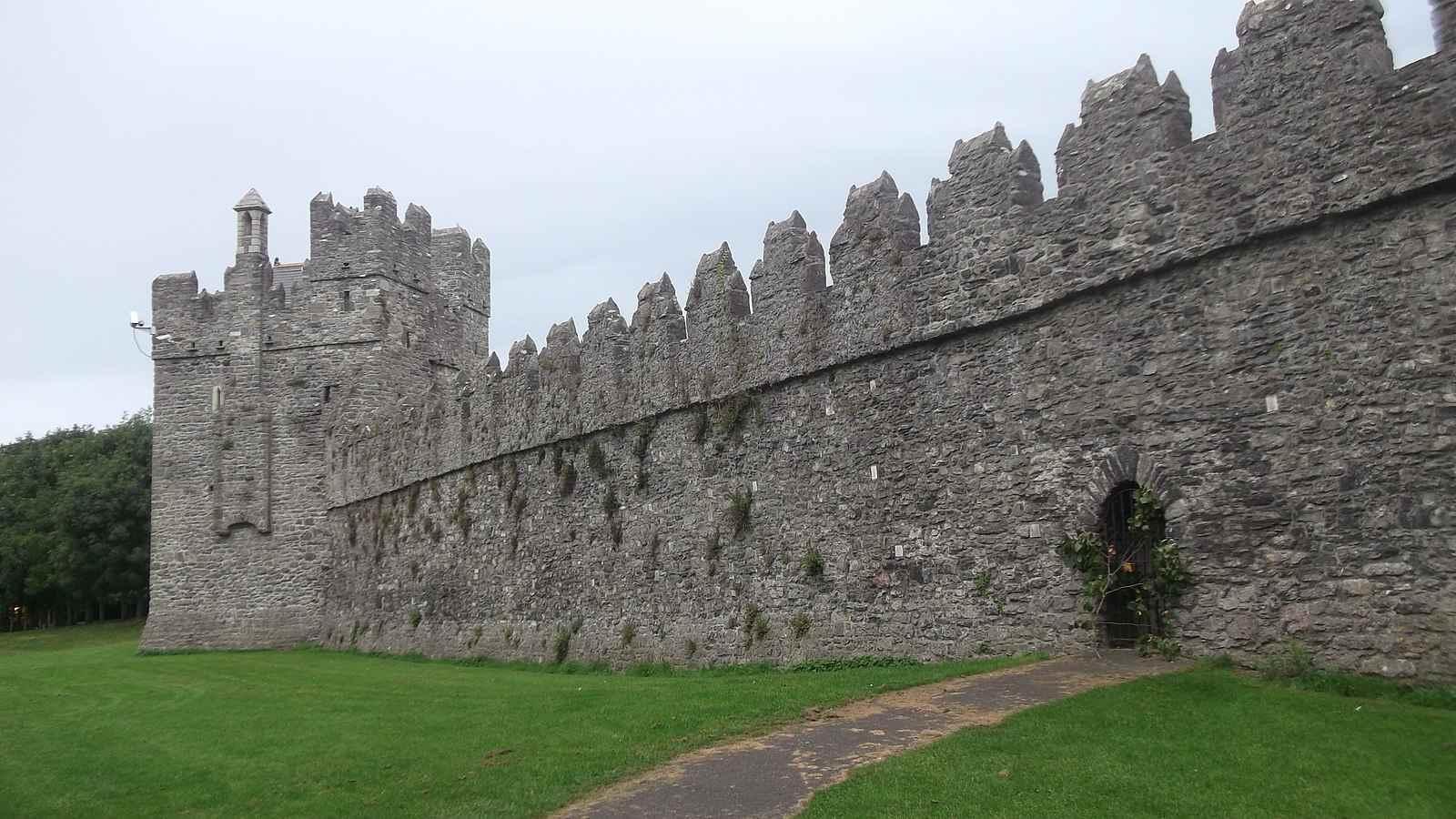 Swords Castle near Dublin
